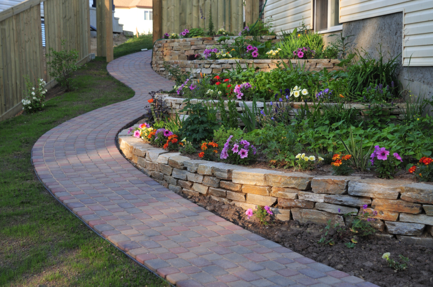 we build durable tough retaining walls in raleigh nc - Retaining Wall Designs